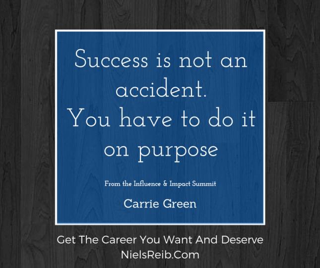 career website carrie-green-success