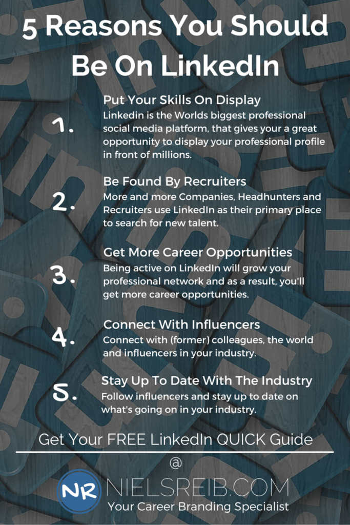 what is linkedin - 5 Reasons You Should Be On LinkedIn
