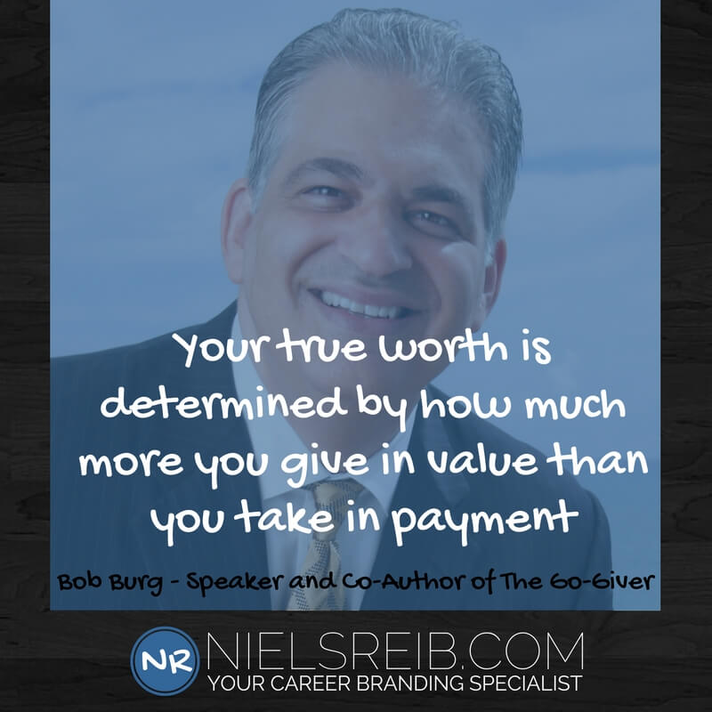 nielsreib.com - Bob Burg - Co-Author of the Go-Giver mindset